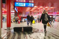 Střecha hlavního nádraží jako cedník: Je v dezolátním stavu, přiznal ředitel SŽDC. Jaké změny chystá?