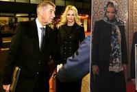 Moniku pozlobil v Maroku šátek. Babiš zmínil dceřin tenis s princem a psa jako dárek