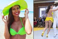Sexy tanečnice ze StarDance Lálová: Vyšpulila nahý zadeček při tanci pro charitu