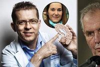 Zeman posvětil nové profesory. Včetně chirurga, který operoval mozek Strachové