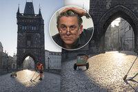 Praha jako jeviště pro objektiv: Na pěkné fotky se vyplatí počkat, říká »starý nadějný fotograf« Vít (56)