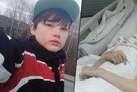 Ivan (†15) zachránil matku a sám skončil s rozdrcenou lebkou. Před smrtí jej navštívila jen dvakrát