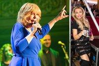 Vánoční koncert Hany Zagorové: Borhyová ho celý protančila!