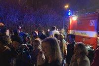 Pražské kulturní centrum zasáhl požár. Policie evakuovala 500 lidí