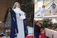 Tipy na víkend: Andělé se snesou z nebe! Nalaďte se vánočně na výstavách betlémů