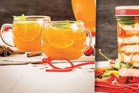 Jedlé vánoční dárky: Mandarinkový punč i nakládaný hermelín! Pochoutky doma vyrábí polovina z nás