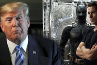 "Christian ""Batman"" Bale: Donald Trump si myslel, že jsem Bruce Wayne"
