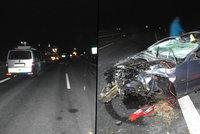 """Nová fakta o """"smrťáku"""" na D6: Šofér měl BMW, zákaz řízení a letní gumy: Spolujezdec nepřežil!"""