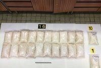 Policisté rozprášili gang dealerů: Našli drogy za miliony i granátomet