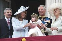 Strach o život královské vnučky: Letěl pro ni vrtulník