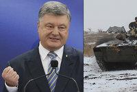Válečný stav na Ukrajině neprodlouží. Porošenko chce speciální soud na korupci