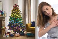 Na Štědrý den výrazně roste riziko infarktu, vědci řekli kritickou hodinu