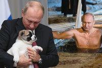Vyprodáno! Kalendář s Putinovými fotkami jde v Japonsku na dračku