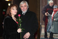 Popelka Šafránková s manželem Abrhámem: Tajná oslava!