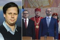 Mezi novými profesory dostal dekret i syn expremiéra Fischera. Zeman chyběl