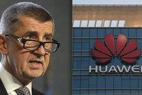 Babiš si kvůli vyhazování mobilů Huawei klepe na čelo: Unáhlené rozhodnutí