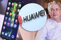 """""""Čučkaři a trapní chudáci."""" Zeman se opřel do kyberúřadu a BIS za varování před Huawei"""