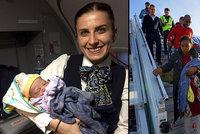 Drama v letadle: Muž dostal ten nejkrásnější dárek k Vánocům: Jeho syn se narodil 13 kilometrů nad zemí!