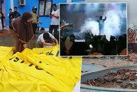 Po tsunami v Indonésii je už 222 mrtvých. Vlna zabíjela i na koncertě