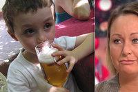 """Matka nechává pít alkohol i malé děti. """"Syn si dal tři loky a pak raději kolu"""""""