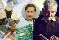 """""""Český důchodce přispěje řeckému."""" Ekonom popsal dopady přijetí eura"""