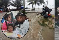 Bouře udeřila na dovolenkový ráj a má první oběť. To nejhorší přijde, říká Češka Veronika