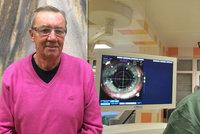 Stanislav (70) prodělal čtyři operace oka, málem oslepl. Vážnou nemoc odhalila náhoda!