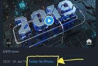 Novoročenka z iPhonu má v Huawei personální dohru. Po posměchu přišel trest