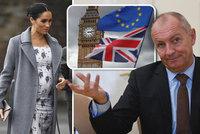 """Těhotná Meghan i """"rozvod"""" s EU: Český velvyslanec prozradil, jak díky brexitu vyhrál sázku"""