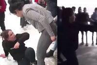 Placené zápasy školáků! Brutální video rvačky dvou děvčat (15) se šíří internetem