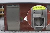 Zlatý důl pro zloděje: Místo banky vyloupil veřejné záchodky