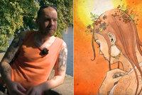 Zemřel slavný výtvarník Delarock: Z Erbenovy Kytice udělal krvavý komiks