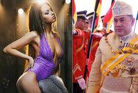 Malajsijskému králi a jeho Miss Moskvě se splnil sen. Čekají prvního potomka