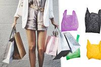 Češi si místo igelitek nosí na nákup vlastní tašky. Budou i sáčky plátěné?
