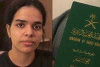 Saúdka (18) prchající před rodinou získala status uprchlice. Potvrdily ho úřady