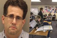Nevyžádaná hodina sexuální výchovy: Učitel masturboval při hodině