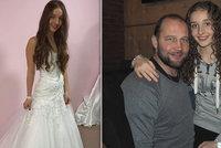 Bude z ní nevěsta? Dcera Šlégra se oblékla do svatebních šatů!