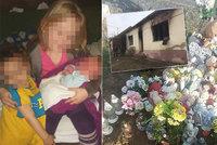 """Tři uhořelé děti (†1, †4 a †9) stále nemají pomníček: Peníze ze sbírky """"padly"""" na vybavení domu"""