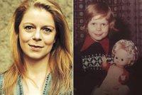 Herečka Monika Zoubková zavzpomínala na dětství: Tu dobu bych zpátky nechtěla!