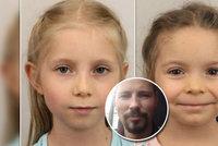 Zoufalý otec pátrá po dcerách: Kristinku (7) a Barunku (10) před ním jejich matka už tři roky ukrývá
