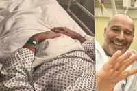 Zvrat u polámaného Musila po druhé operaci: Velké bolesti! Co jediné pomáhá?