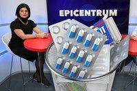Špatné užívání léků zabije ročně až 200 Čechů. Pomůže sdílený lékový záznam?
