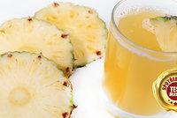 Test džusů a nektarů v laboratoři nemile překvapil: Stoprocentně z ananasu? To sotva!