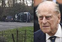 Princ Philip (97) měl autonehodu! Land Rover převrátil na bok! Je hluboce otřesen