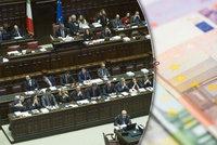 Italy čeká dřívější důchod. A při hledání práce až 18 tisíc měsíčně od vlády