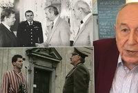 Z dolů až na Hrad. Černý baron Emil (91) zažil útisk komunistů i nacistů