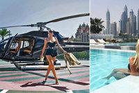 Tygr na vodítku a luxusní sporťáky? Podívejte se, jak si žije zlatá mládež v Dubaji