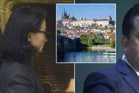 Lákali ji do tryskáče do Prahy: Manželka exšéfa Interpolu se bojí únosu Číňany