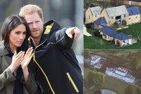 Princ Harry s těhotnou Meghan se stěhují. Došly jim peníze?