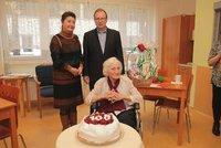 Zemřela nejstarší Češka. Květoslavě Hranošové bylo 108 let, setkala se s T. G. Masarykem